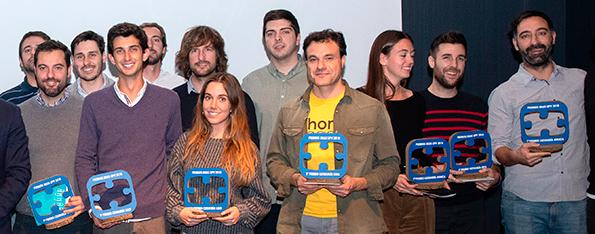 Los galardonados en los XII edición de los Premios Ideas UPV,/UPV
