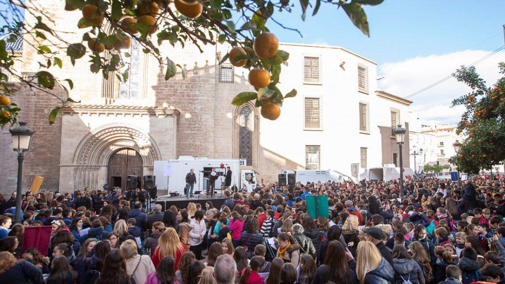 Nadalenques al carrer, Valencia/Img.V.Gutiérrez