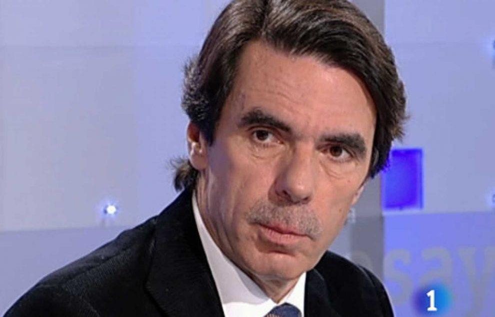 José María Aznar, ex presidente del Gobierno desde 1996 a 2004/Img. Rtve
