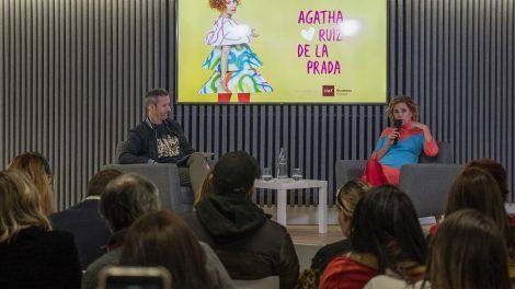 Agatha Ruiz de la Prada en IMF Business School/.Img. trescom