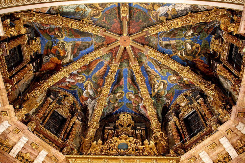 Frescos de los ángeles cantores en la Catedral de Valencia/Img. Archidiócesis