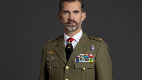 Su Majestad el Rey Felipe Vi, con el uniforme de Capitán General del Ejército de Tierra./LV