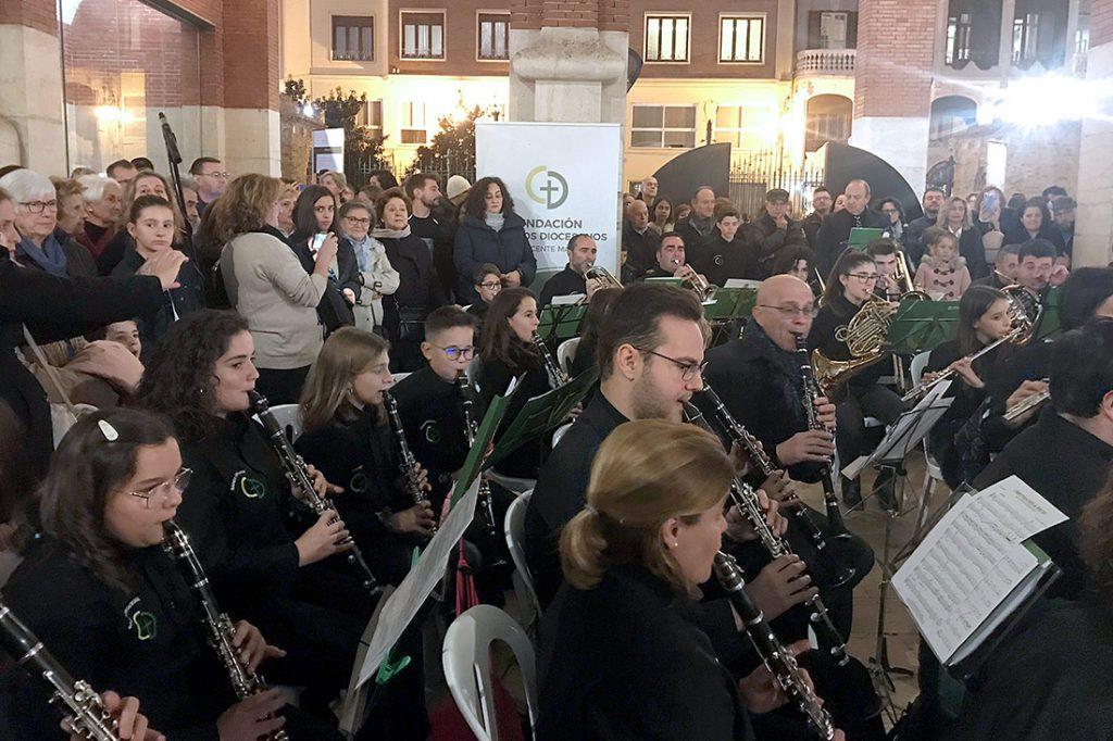 Concierto de colegios Diocesanos en el Mercado de Colón/