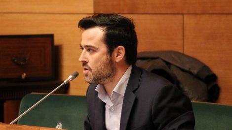 El diputado de VOX Joaquín Alés/Img. informaValencia.com