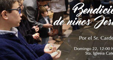 Este domingo el cardenal Cañizares bendice figuras del Niño Jesús de las familias valencianas/Img.Archidiócesis