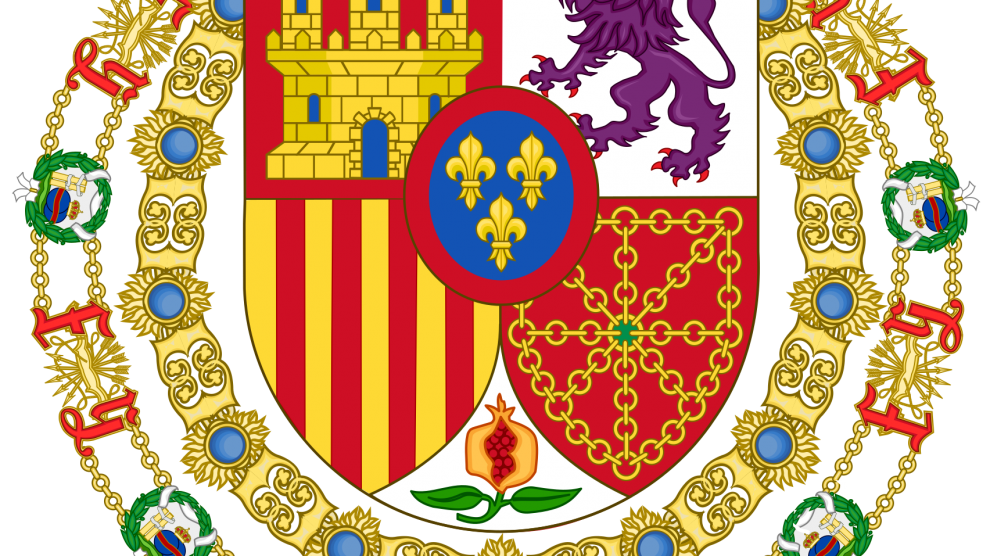 Monarca Español Felipe VI . Gran Maestre de La Orden de Isabel La Catolica
