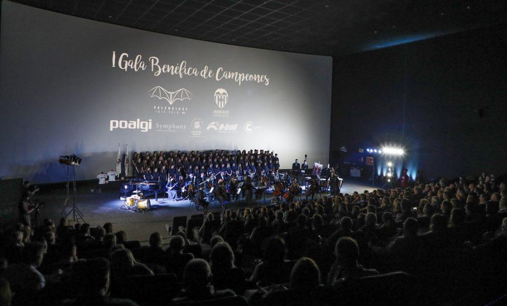 La I Gala de Campeones organizada por la Asociación de Futbolistas del Valencia CF junto al Valencia CF fue un éxito rotundo/Img. AFVCF