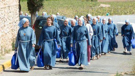 Las religiosas de Iesu Communio en Godella/Img. web Iesu Communio