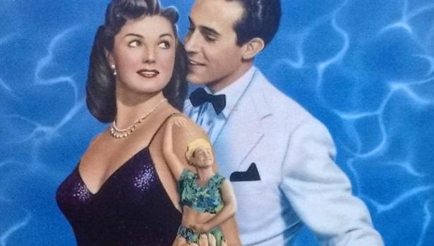 Cartel de «La hija de Neptuno», película protagonizada por Esther Williams y Ricardo Montalbán que popularizó, en 1949, la canción «Baby, It's Cold Outside»/ABC