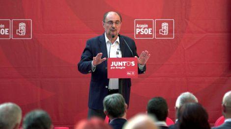 Javier Lambán, presidente del Gobierno de Aragón/Arch