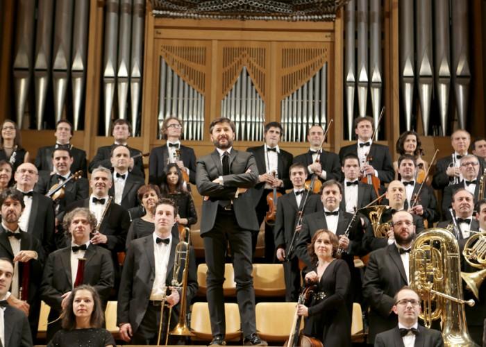Orquesta Sinfónica Mediterráneo con su director Juan Antonio ramírez al frente./Web Orquesta