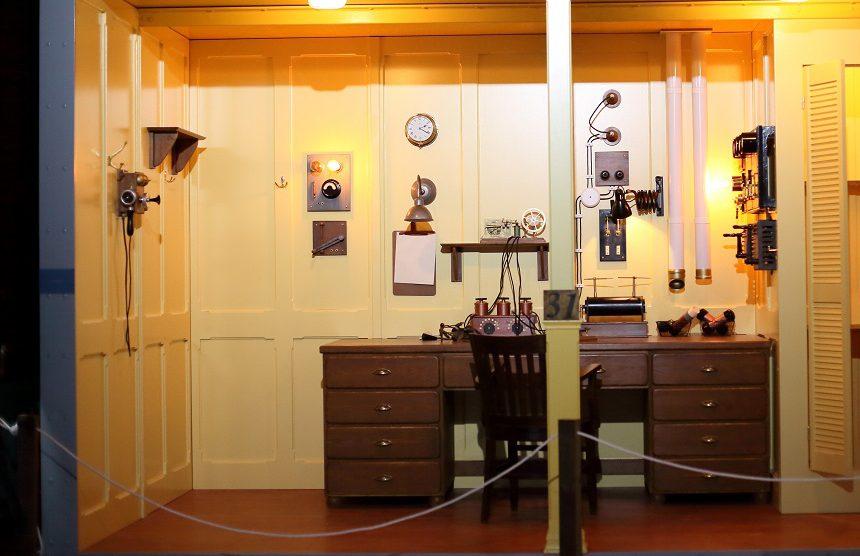 Cabina de radio Marconi en el Titánic./Img. EM