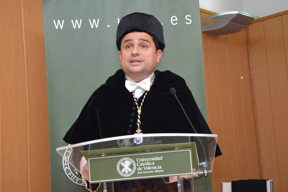 Jose Manuel Pagán, Rector de la UCV/Img.UCV