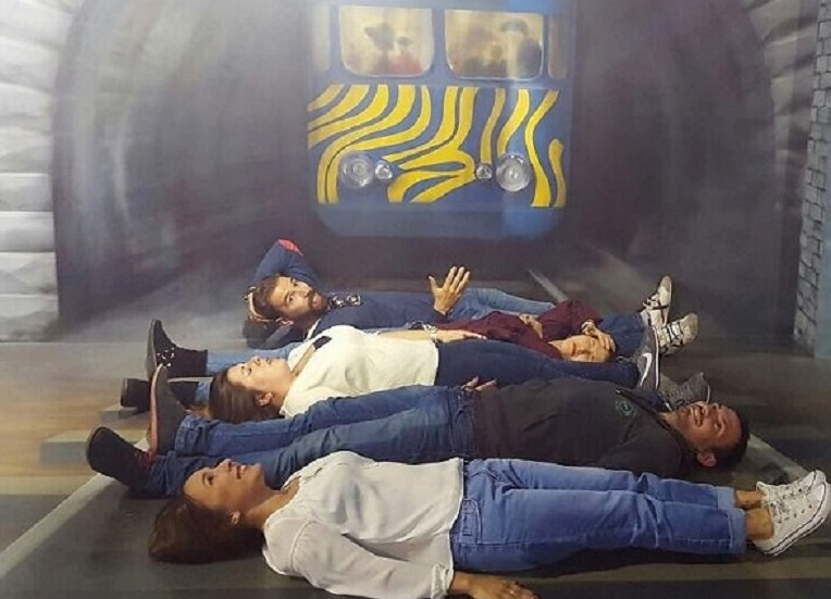 El museo de las ilusiones ( museu de les il.lusions ), expone ilusiones ópticas y juegos visuales donde tu serás el protagonista./informaValencia.com