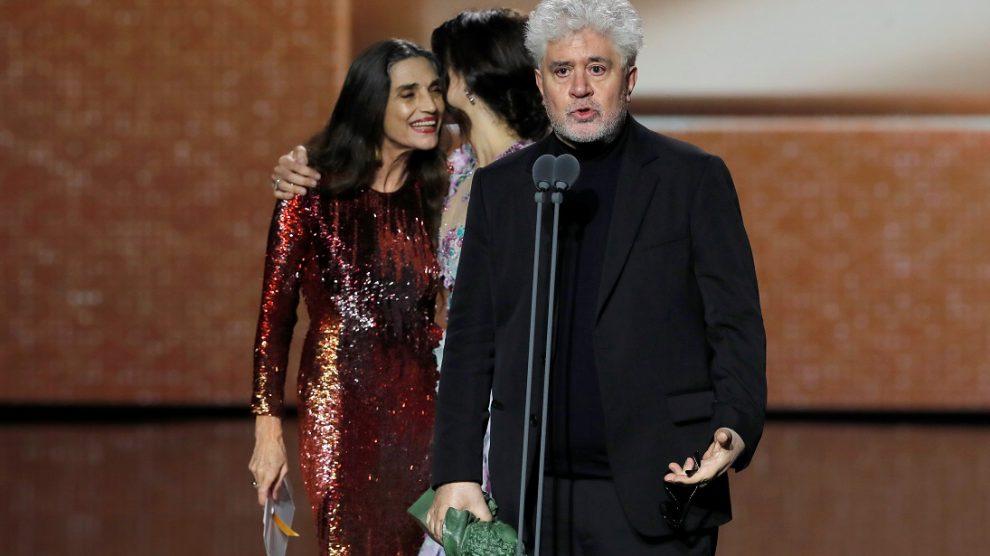 Pedro Almodóvar, ran triunfador en los Premios Goya/rtve