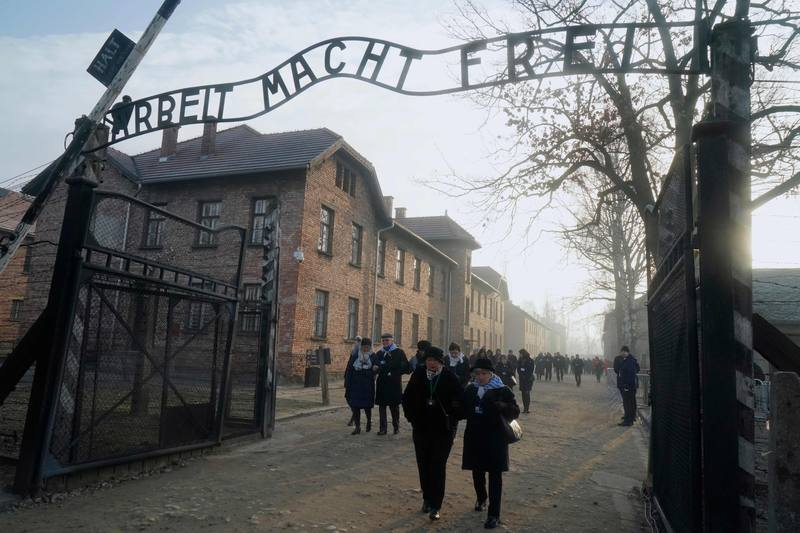 Entrada campo de Auschwitz/Rtve