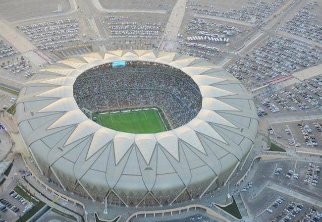 Estadio King Abdullah, de Jeddah. Arabia Saudí/VCF