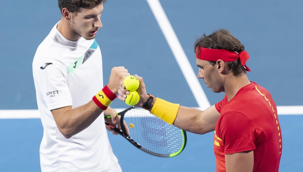 España jugará este sábado las semifinales de la ATP Cup, contra Australia./TDP