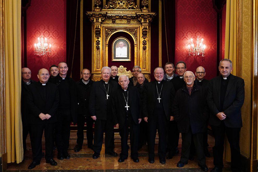 El cardenal Cañizares anuncia el nombramiento de Mons. Vicente Juan como obispo auxiliar/Img. informaValencia.com