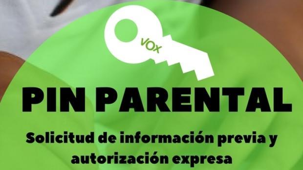 Pin parental, la medida de Vox para la Región de Murcia.