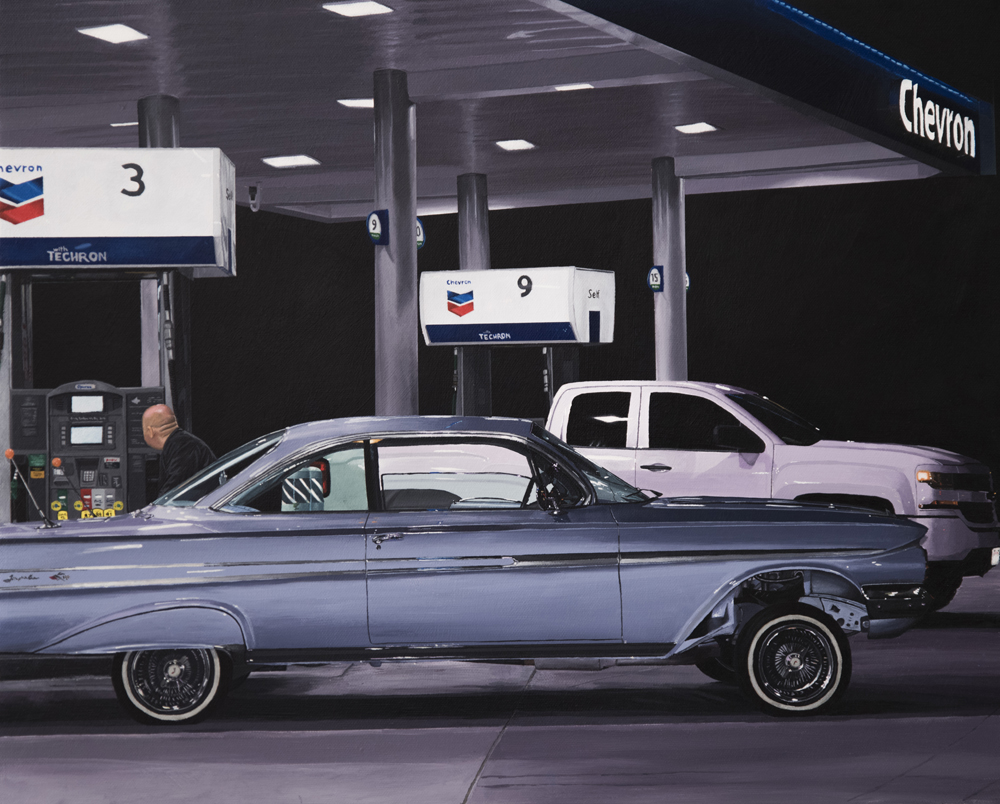 The Perez Bros Gas Station, AMERICANA, Plastic Murs