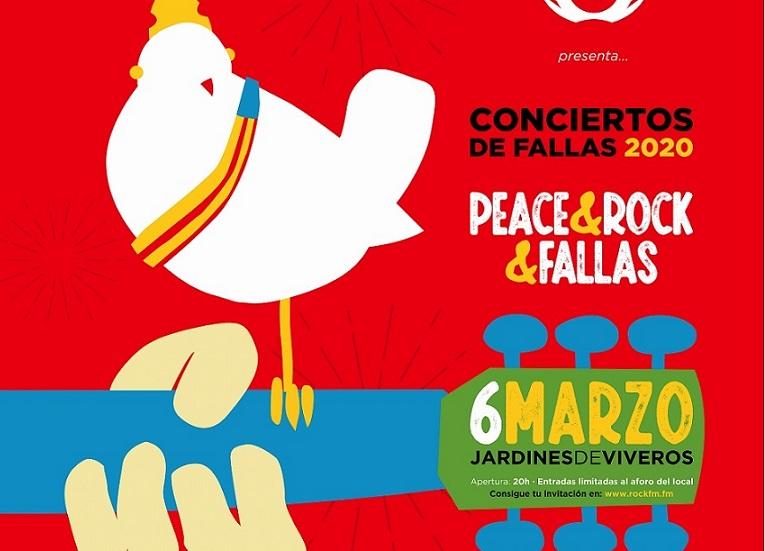 Cartel del concierto de Rock FM