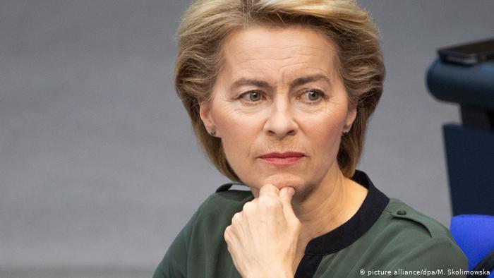 Ursula Gertrud von der Leyen, presidenta de la Unión Europea/wp