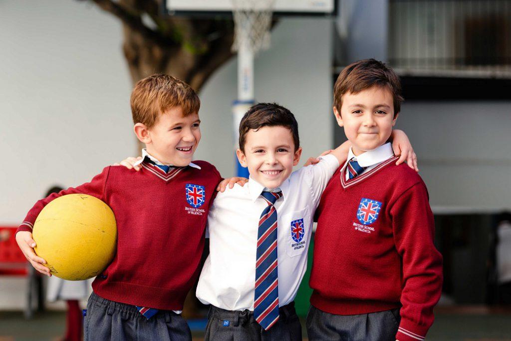 Niños del British School Valencia./BSV